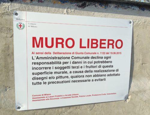 I muri liberi di Milano sono davvero liberi?